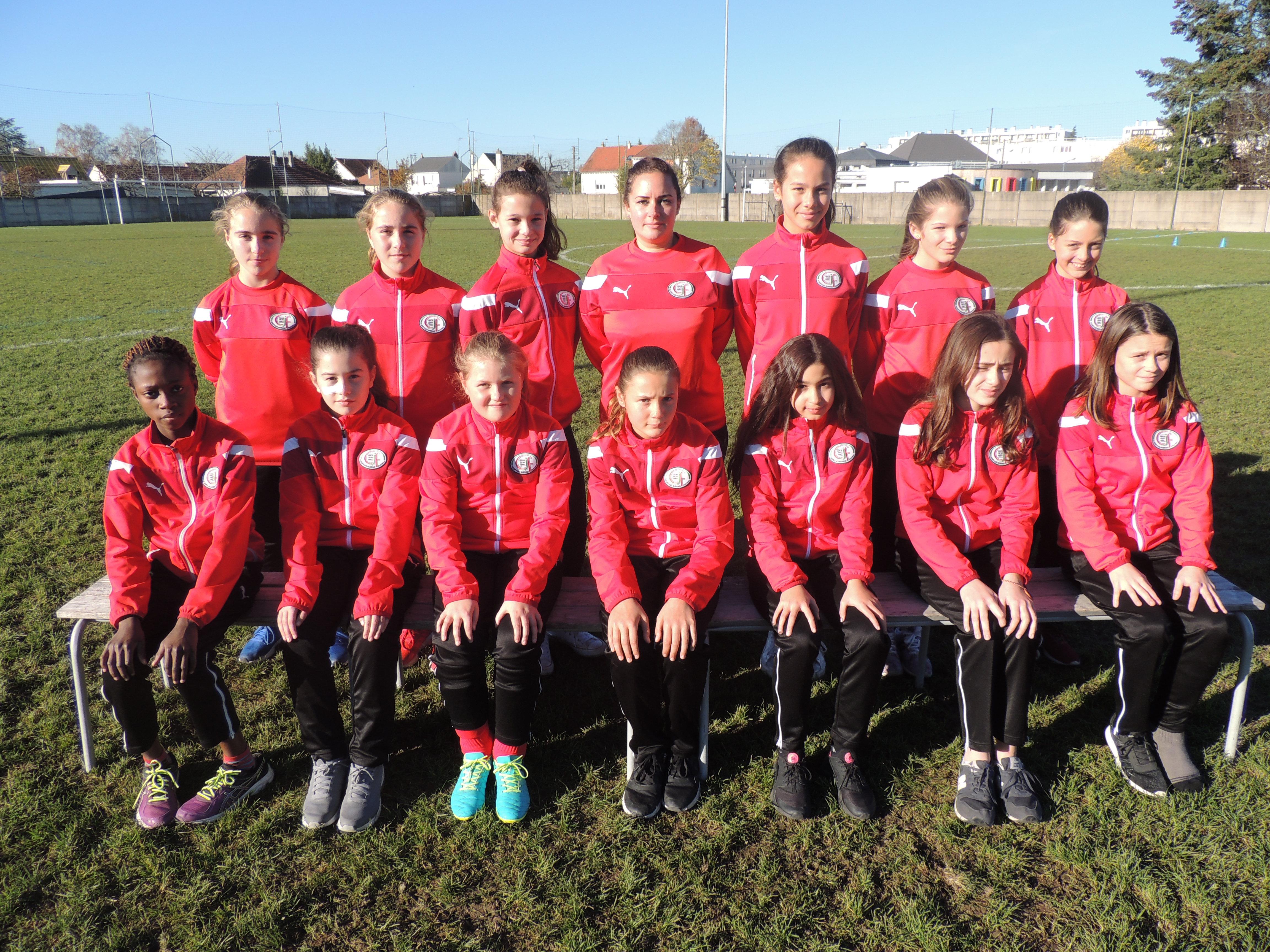 Groupe-U13F : 2017-2018