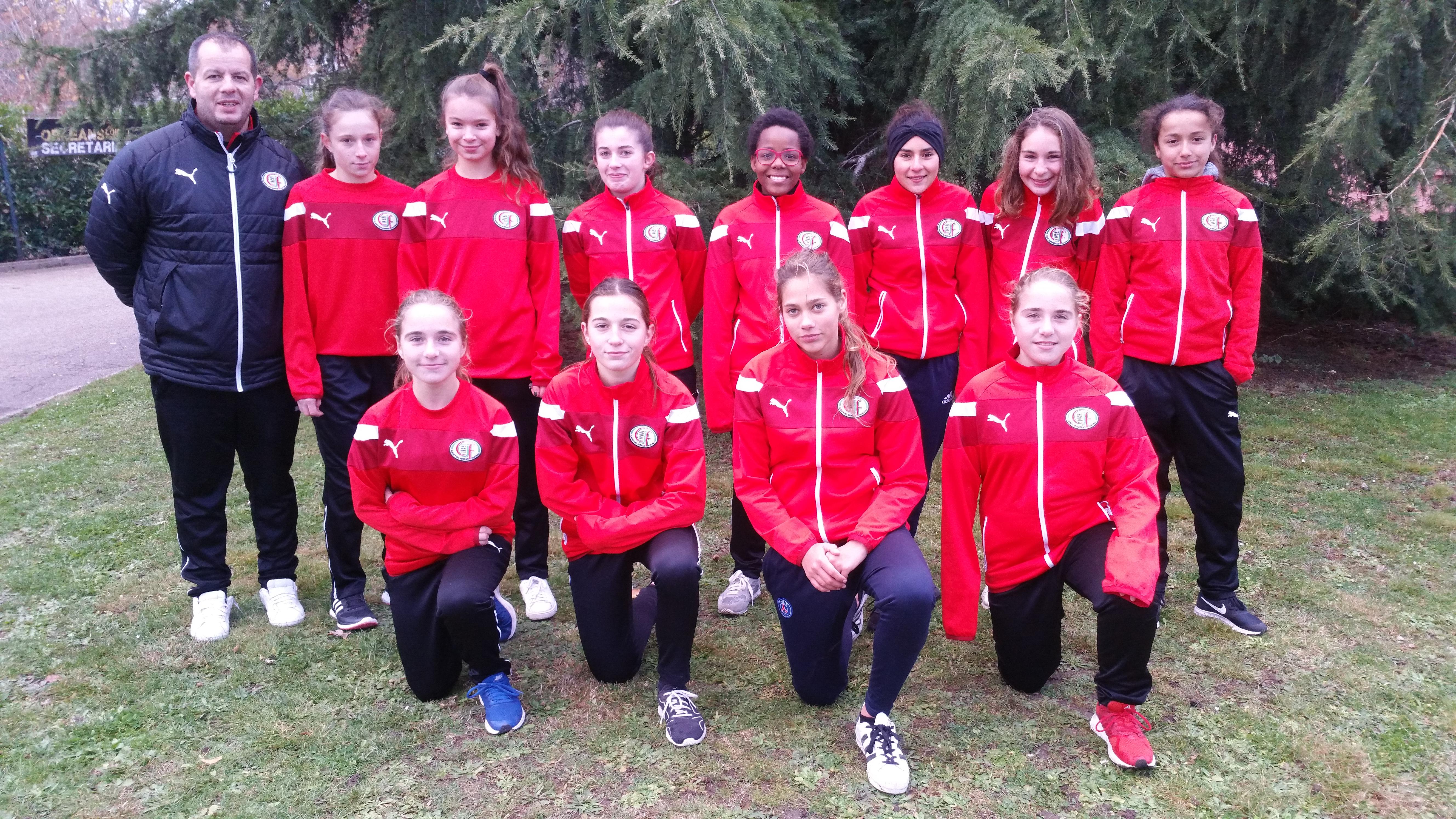 Groupe-U15F : 2017-2018