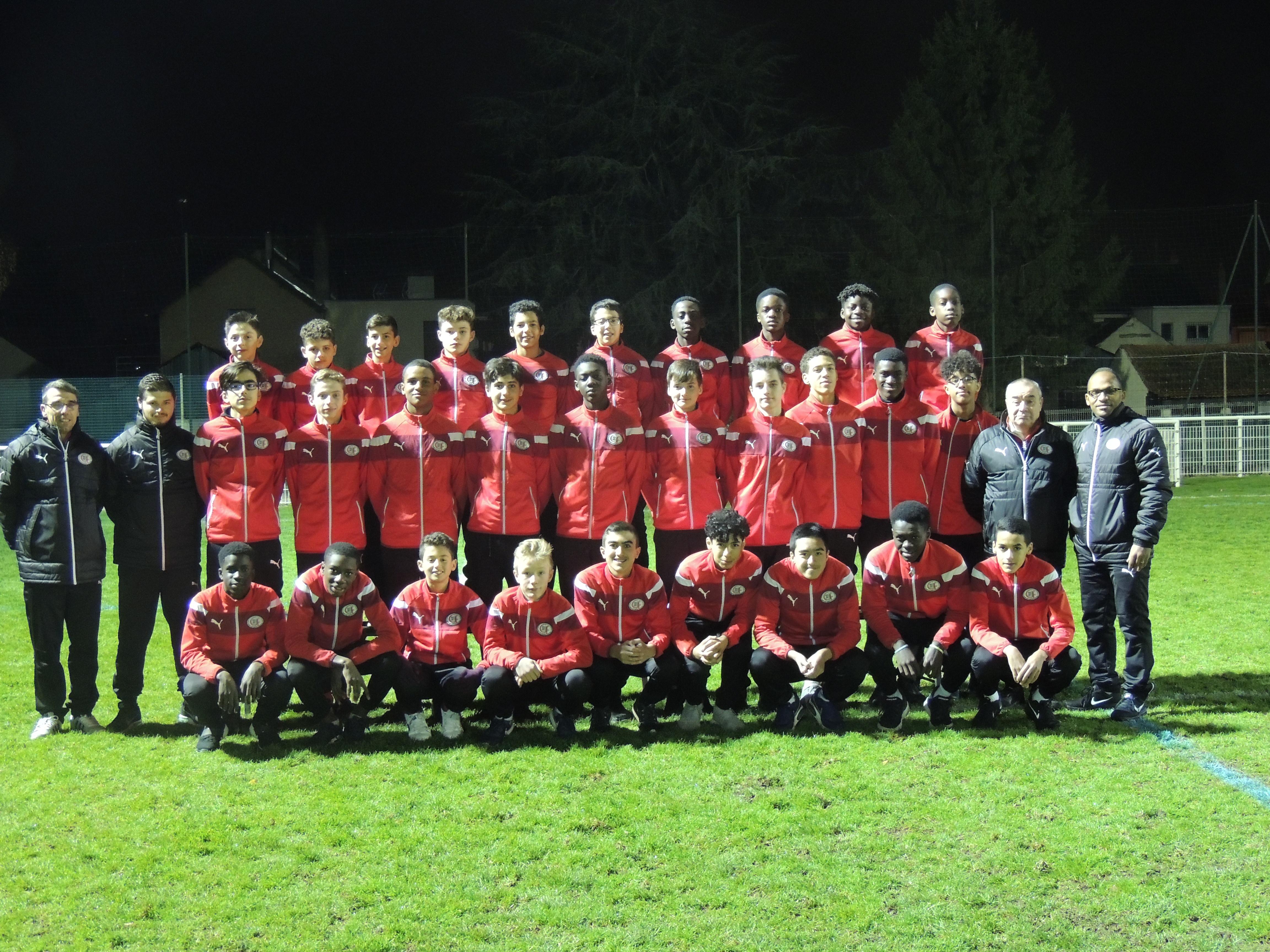 Groupes-U14 et U15 -2017-2018