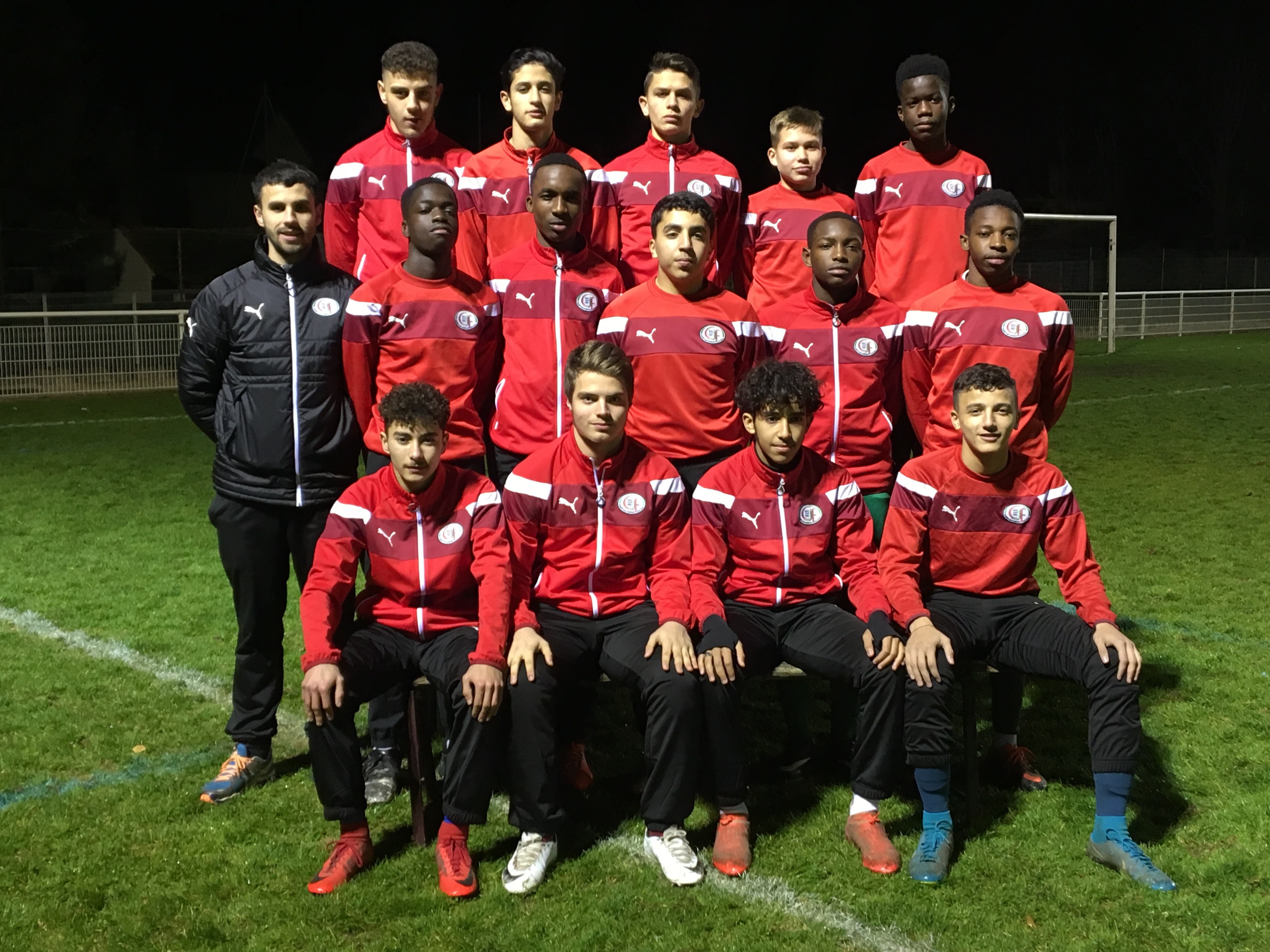 Groupe-U16 : 2017-2018